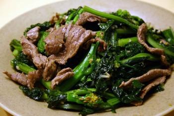 Cách làm thịt bò xào ngồng cải siêu ngon mà dễ làm