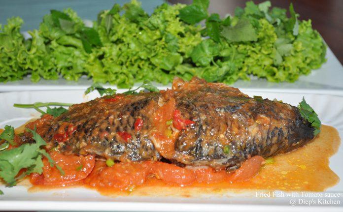 Cách làm món cá rô phi sốt cà chua chua ngọt ngon miệng
