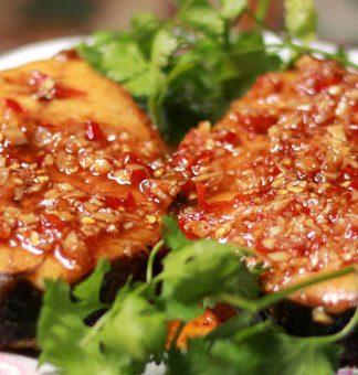 Cách làm món cá thu sốt mắm tỏi ngon đúng điệu