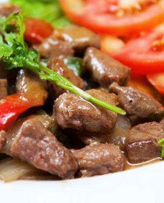 Cách làm món thịt bò lúc lắc trong tích tắc