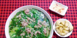 Cách nấu canh cua rau đay mồng tơi ngon mát cực bổ dưỡng