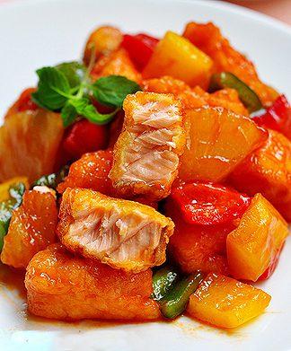 Cách làm cá hồi sốt cà chua nhanh gọn ngon tuyệt