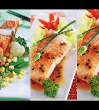 Cách làm cá hồi sốt kem chanh ngon đúng chuẩn Âu