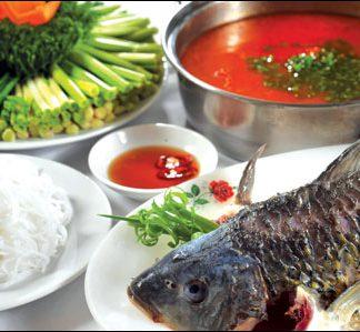 Cách nấu lẩu riêu cá chép ngon đúng điệu cho ngày cuối thu