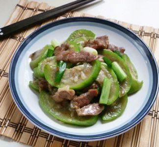 Cách làm món cật heo xào mướp vừa ngon vừa bổ dưỡng cho bữa trưa
