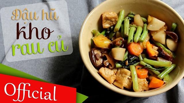 Đổi mới bữa ăn hàng ngày bằng món rau củ kho chay