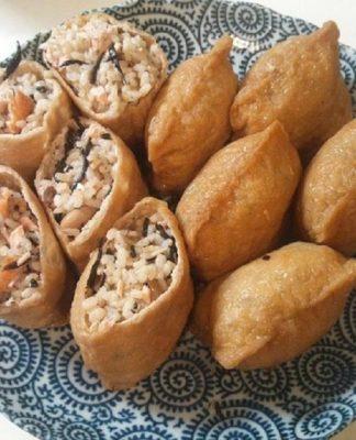 Thay đổi khẩu vị với món sushi đậu hũ