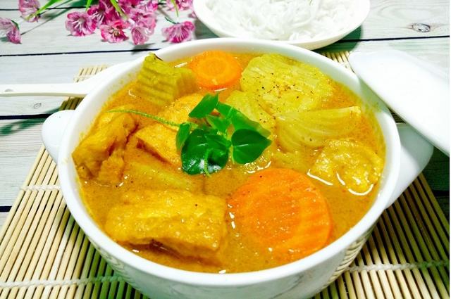 Món cà ri chay Ân Độ chinh phục cả những thực khách khó tính nhất