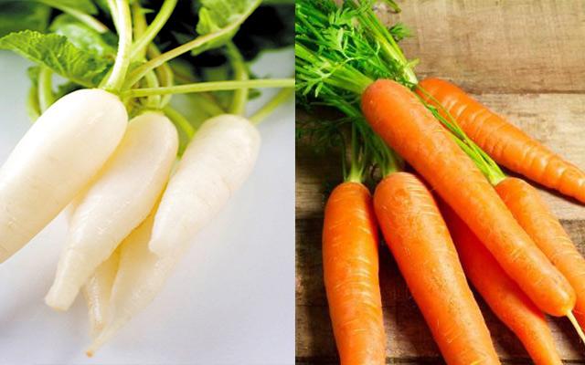 Một trong những nguyên liệu của món rau củ kho chay