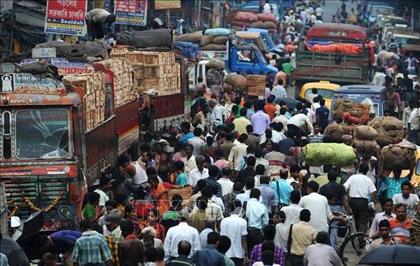 Mật độ gia tăng dân số ở Ấn Độ cực kỳ nhanh