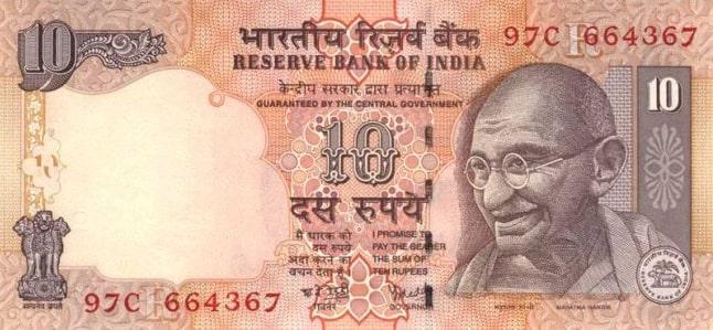 Cận cảnh tờ tiền Ấn Độ