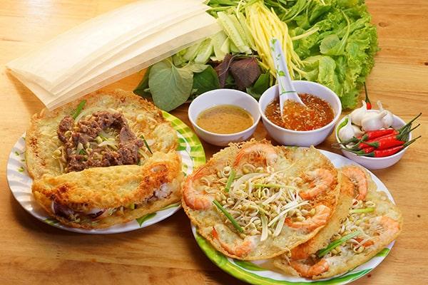 Cách làm bánh xèo tôm nhảy Bình Định siêu ngon