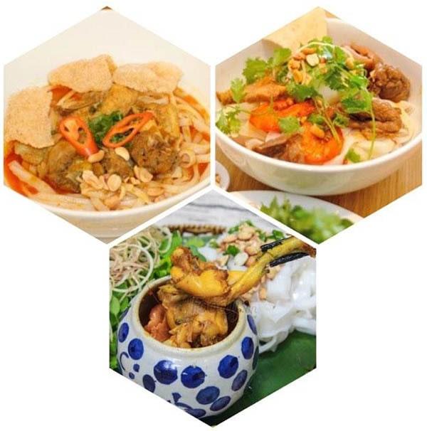 Nguyên liệu chế biến mỳ Quảng