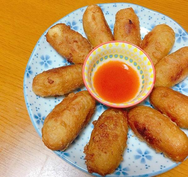 Khoai lang kén - Một trong các món ăn vặt ngon từ khoai lang