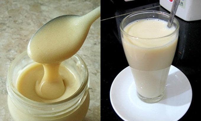 Uống bột sắn dây kèm sữa đặc tăng thêm dinh dưỡng khi uống