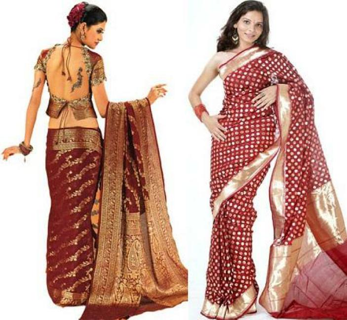 Sari là một trang phục truyền thống đã được mặc trong các ngày lễ hội của Ấn Độ