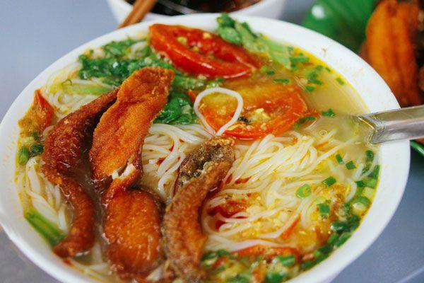 cách nấu bún chả cá Hà Nội