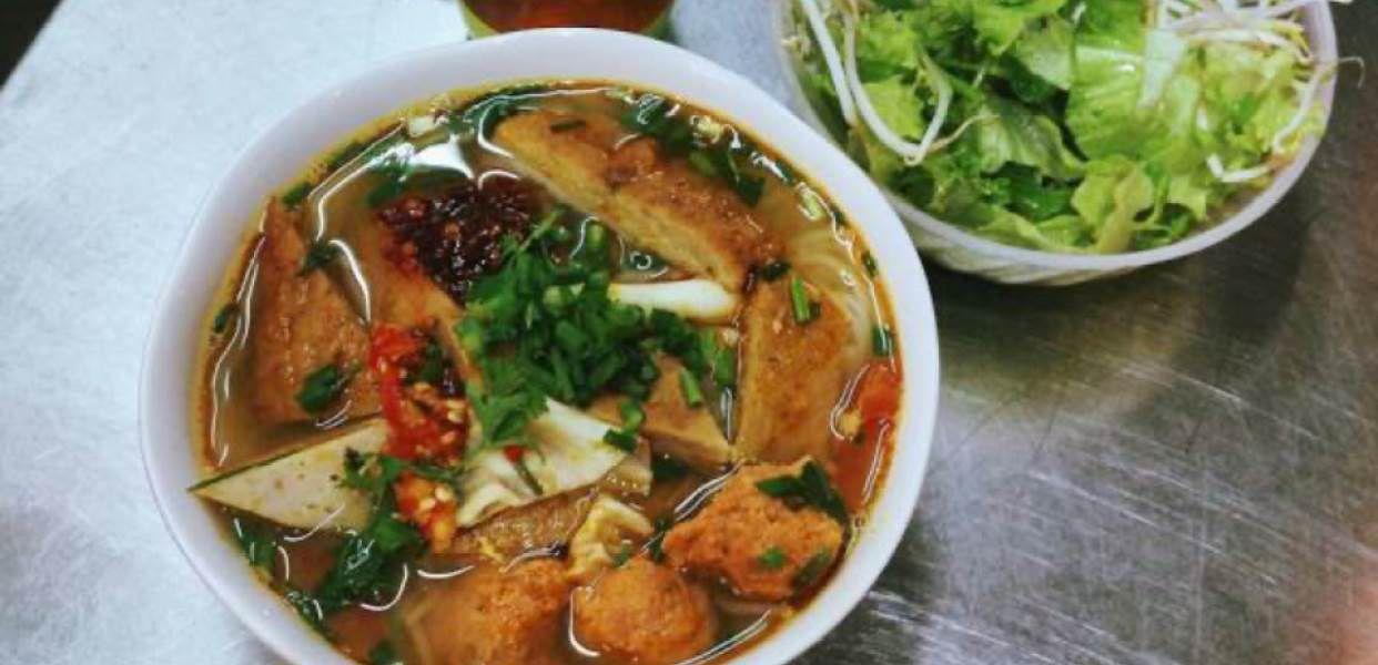 cách nấu bún chả cá Lý Sơn