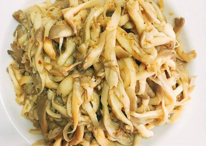 cách nấu món nấm bào ngư xào chay